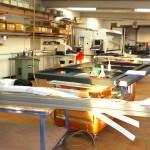 Nos ateliers - Menuiserie Mahieu à Ath - fabricant de châssis ALU et Bois à votre service depuis 1960
